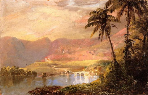 the life and work of frederic edwin church Frederic edwin church was an american artist and prominent member of the hudson river school of landscape painting, alongside asher brown durand and john frederick kensett.
