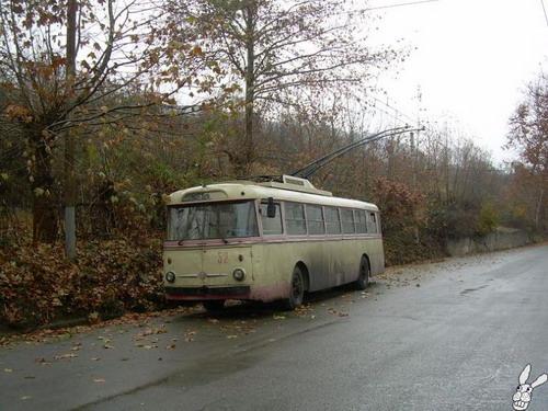 Старенькие троллейбусы фото 2