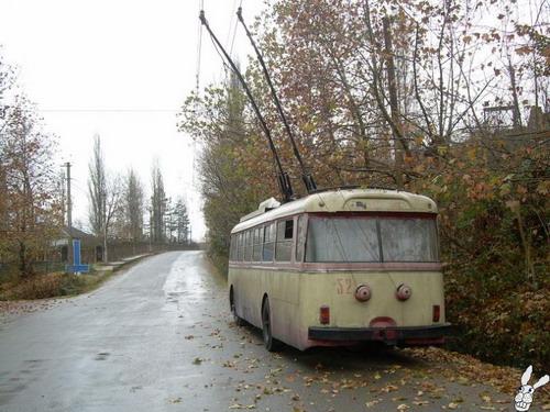 Старенькие троллейбусы фото 3