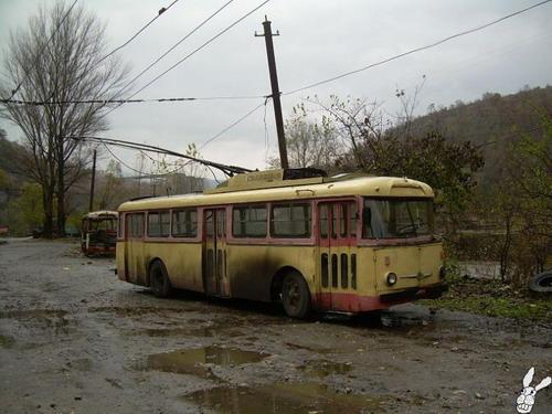 Старенькие троллейбусы фото 4