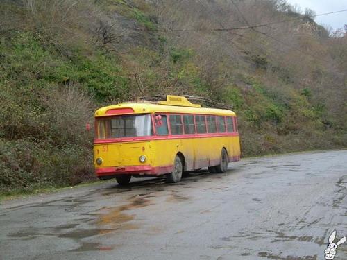 Старенькие троллейбусы фото 6