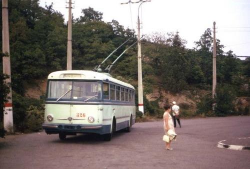 Старенькие троллейбусы фото 8