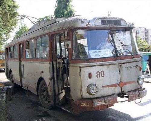Старенькие троллейбусы фото 9