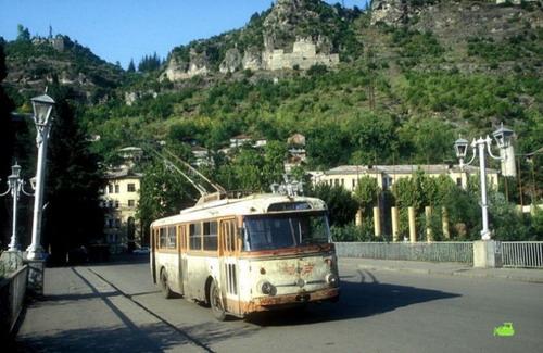 Старенькие троллейбусы фото 10