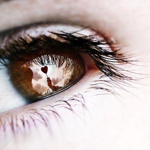 Красота человеческих глаз