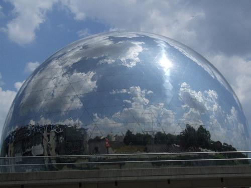 Жеод зеркальный шар фото 0