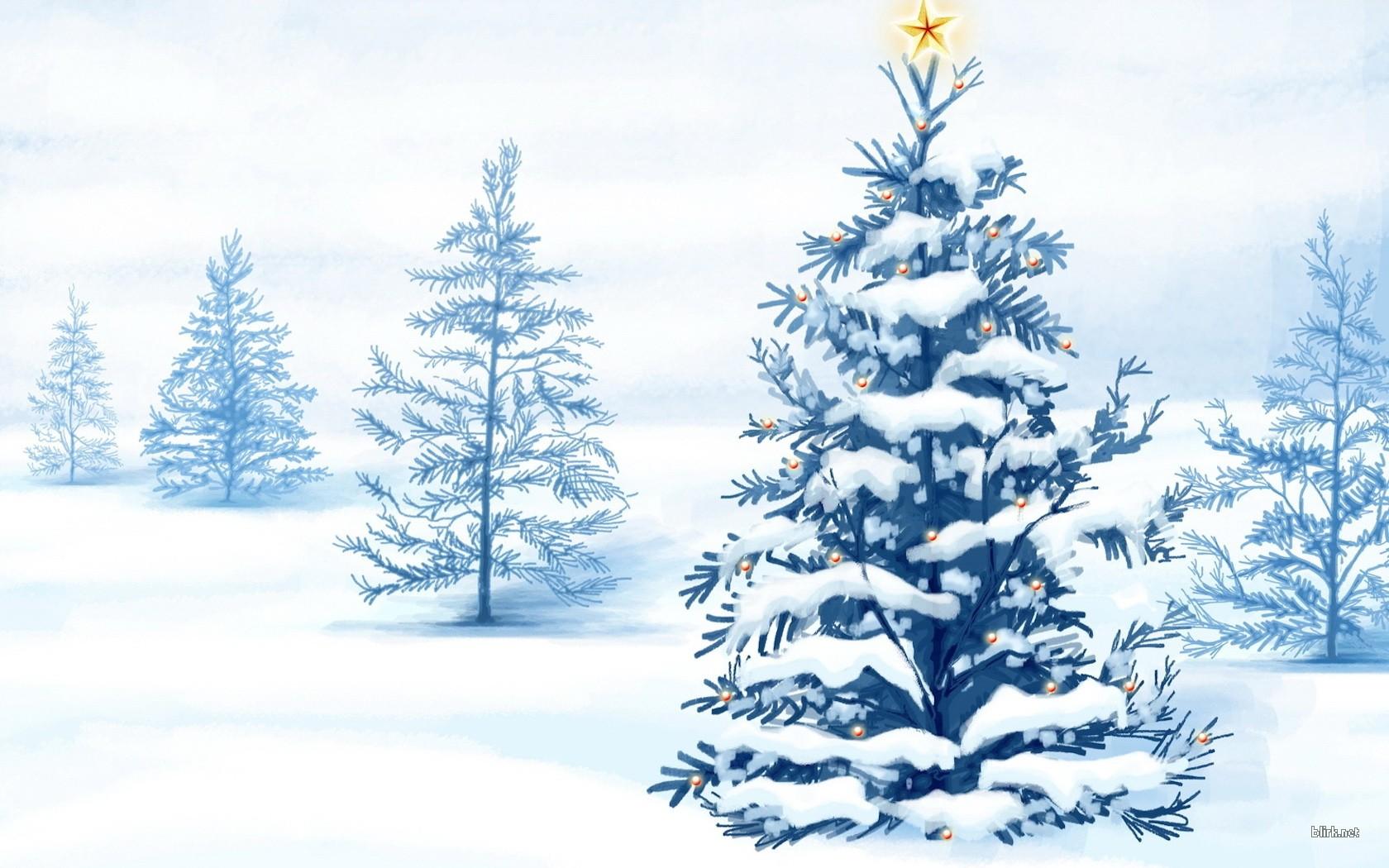 рисунки новогодние: