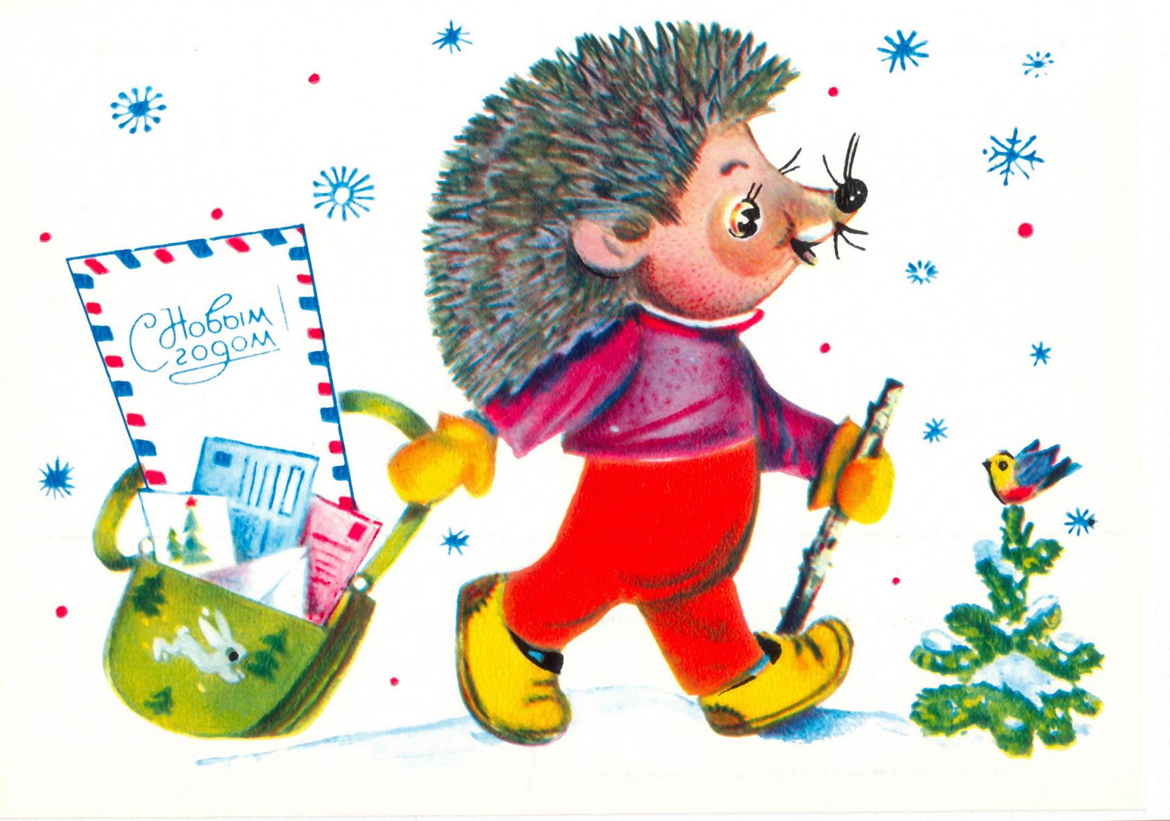 Дети рисуют открытки новый год