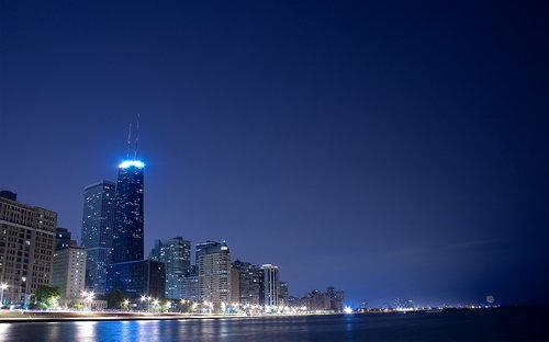 Ночные города на рабочий стол фото 0