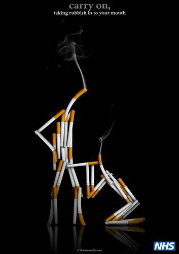 Плакаты против курения фото 16