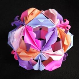 Следующая статья : Цветок в технике оригами. возвратиться на Главную страничку Поделки из бумаги в технике оригами.