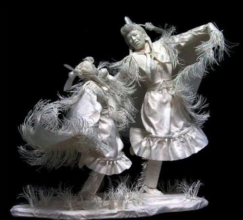 Esculturas de papel 3 foto