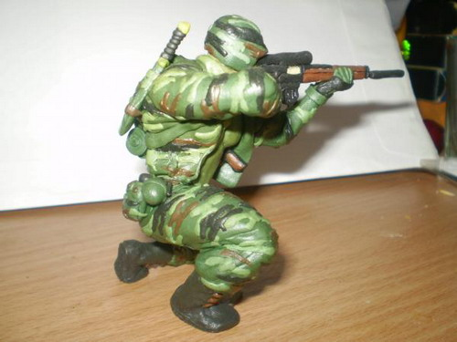 Как сделать солдатов своими руками