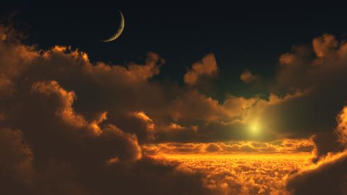 фотообои на стену небо: