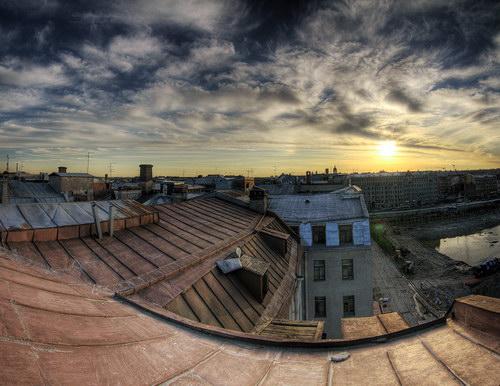 Фотораздел :: Крыши Питера фото 13.