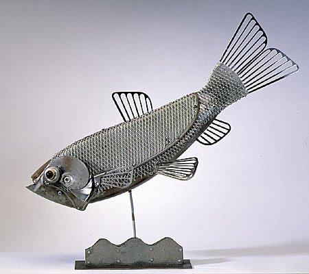 Рыба из металла своими руками 42