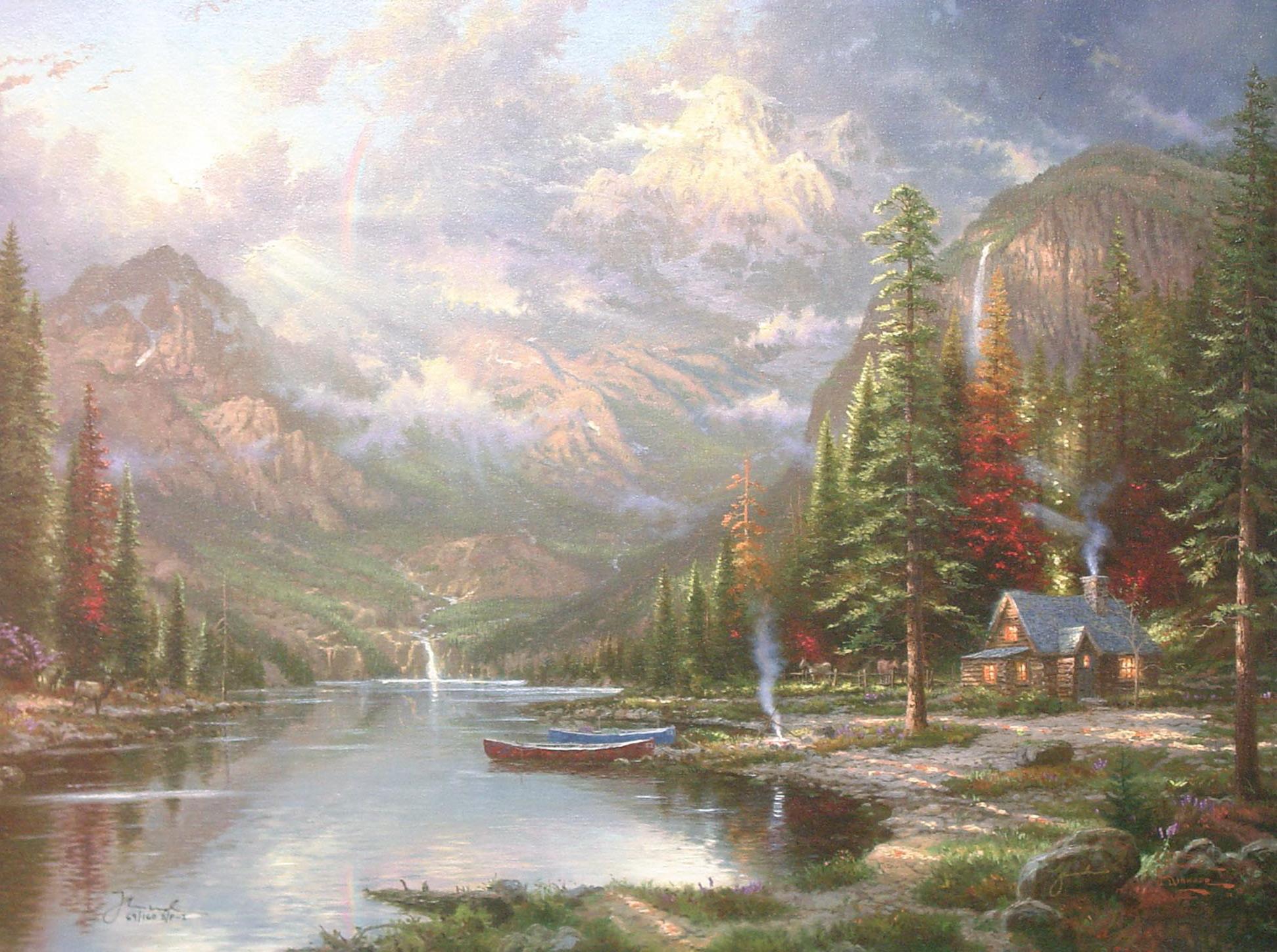 картинки гор томаса