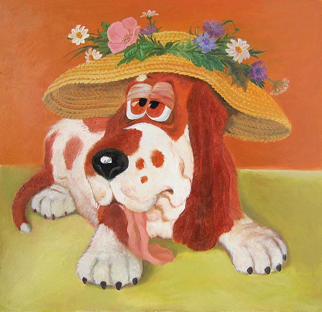 Юмором, картинки с собачками смешные нарисованные