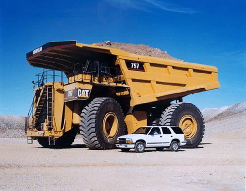 Транспорт :: Очень большие грузовики фото 16
