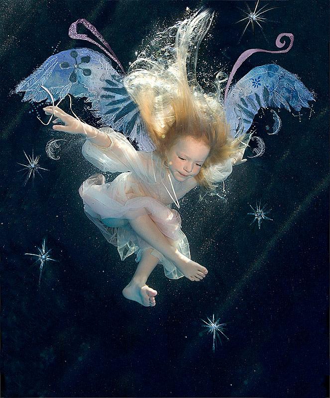 Ангел у воды картинка